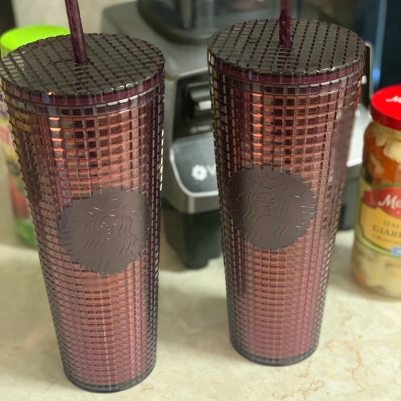 Cranberry Starbucks 24oz Tumbler